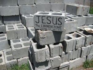 Jesus is the builder