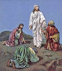 Jesus following transfiguration
