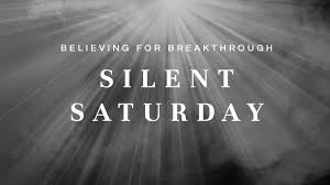 Silent Saturday | Wholeness/Oneness/Justice